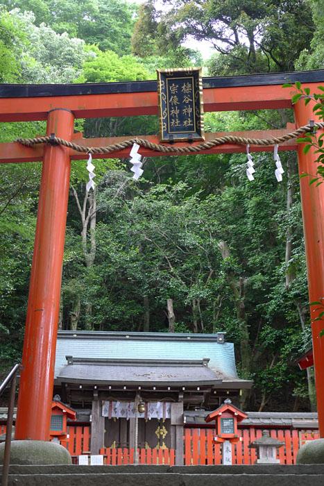 櫟谷宗像神社 京都府 嵐山 5