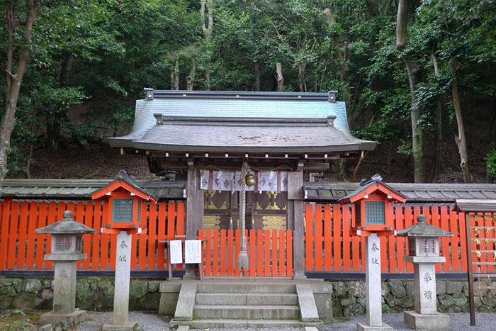 櫟谷宗像神社 京都府 嵐山 6