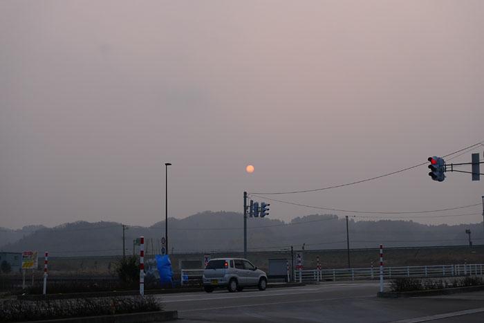 赤い太陽 2014 2月