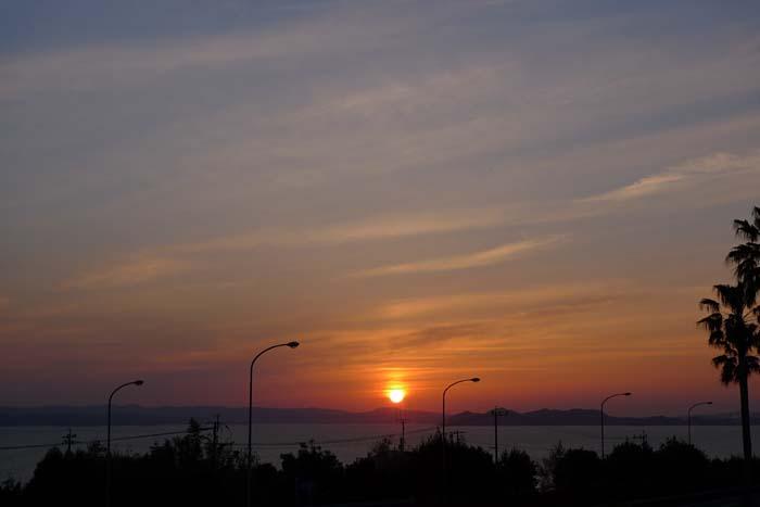 旅先の夕景 2014 1