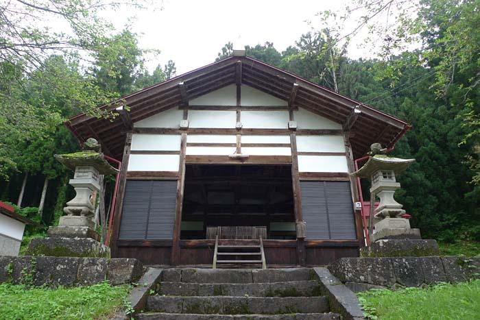 富士神社 飛騨市 河合町 2