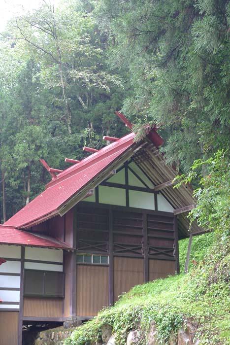 富士神社 飛騨市 河合町 4