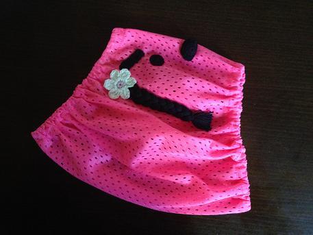 台形スヌ三つ編み