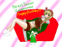 BEASTTAMER SUMMONER BIRTHDAY完成