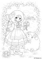 羊飼いの女の子