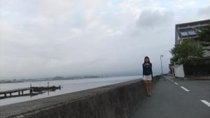 朝の浜名湖