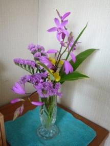 ここあままのブログ-パープルの花