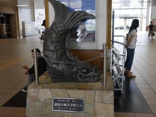 福知山城 鯱