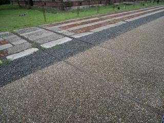 赤レンガ倉庫 古い方 線路跡