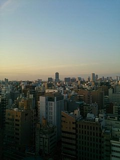 M記念病院13階 窓より(2014.04)