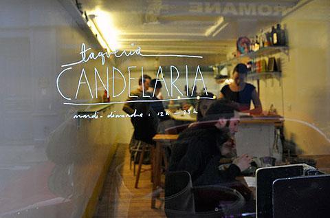 Marais はつづく、  噂のバー Candelaria