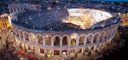 Arena di Verona ヴェローナで夏のオペラ!