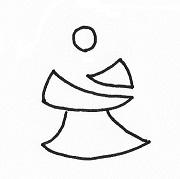 koko_ha.ロゴ ラフデザイン
