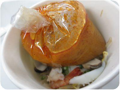 エビのトムヤムラーメンのお弁当