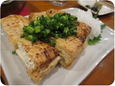 栃尾揚げ(めんたい&チーズ入り)