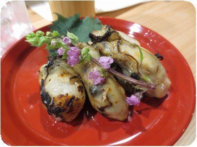 牡蠣の西京焼き