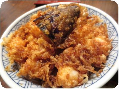 海老かき揚げ丼