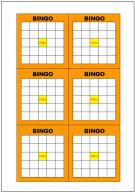 BINGO(ビンゴ)カードのテンプレート・フォーマット・雛形