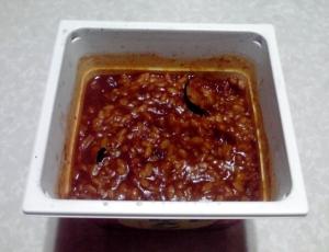 トマトカレーメシ(できあがり)