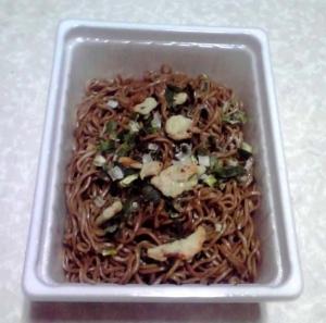 ペヤング 新和風焼き蕎麦(できあがり)