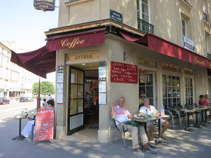 ベルサイユ宮殿 昼食