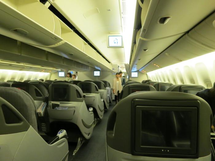 成田~伊丹 クラスJ ビジネスクラス JAL