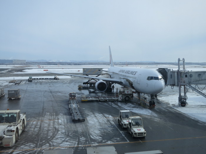 北海道へ 飛行機移動