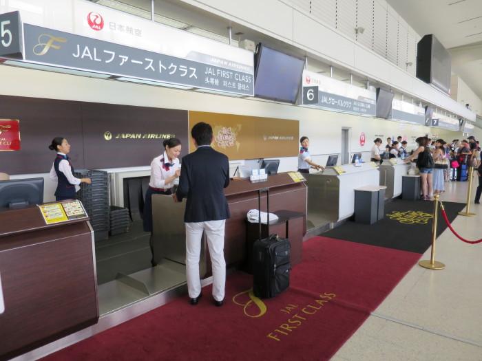 伊丹空港へ 空港バス JGCセキュリティゲート