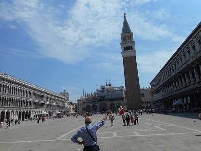 ヴェネツィア・サンマルコの鐘楼①