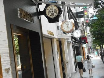 銀座③時計屋3軒