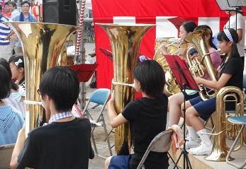 吹奏楽の演奏③