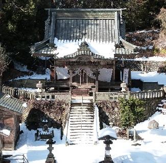 木曽三社神社・社殿①