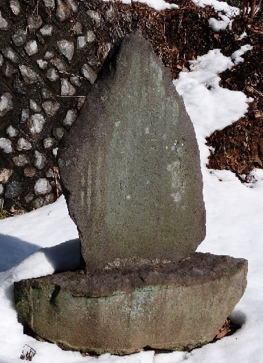 芭蕉句碑 木曾三社神社境内①