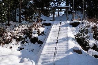 木曾三社神社鳥居 20140210