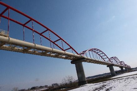 日本一長い水管橋