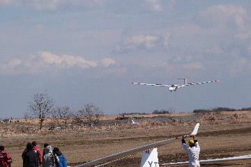 グライダー着陸②20140303