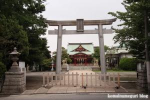 潮田神社(鶴見区潮田町)1