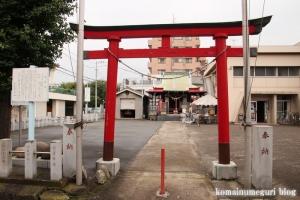 義田稲荷神社(川崎区四谷上町)1