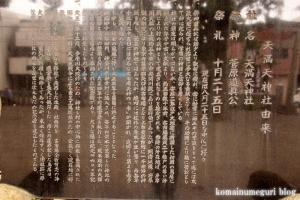 天満天神社(幸区東古市場)10