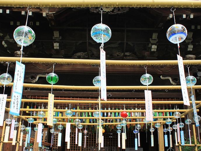 無数の風鈴がある奈良・おふさ観音