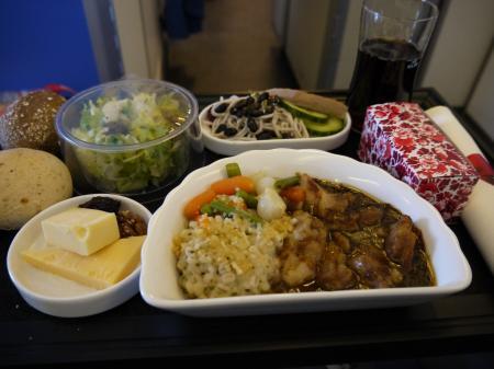 ビジネス機内食