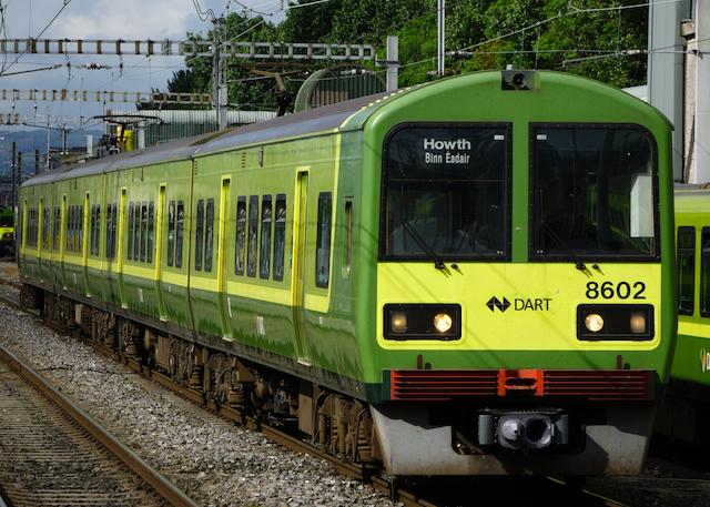 Irish Rail DART 8602