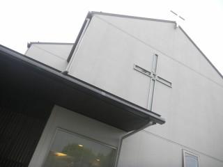 梅雨の教会