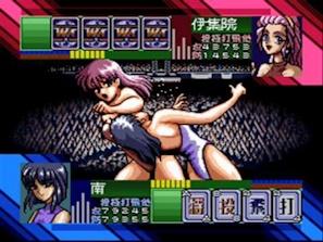スーパーレッスルエンジェルスゲーム画面その6