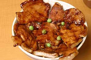 ぱんちょうの豚丼(梅)