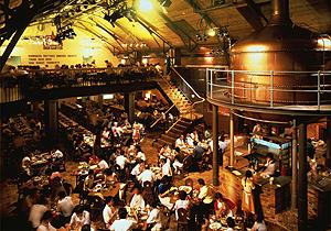北海道ビール園の内部