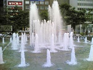 西3丁目噴水