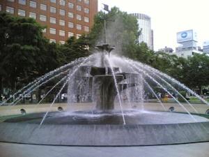 西4丁目噴水