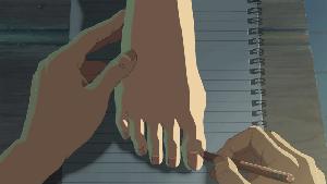 百香里の生足