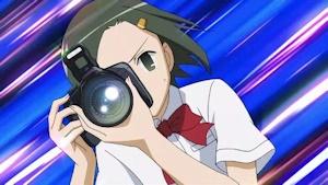 カメラを構えるランコ